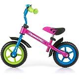 """MILLY MALLY 4805,bicicletta senza pedali, con ruote da 10"""" e campanello"""