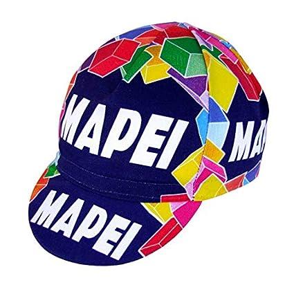 Apis - Gorra de Ciclismo con diseño de Equipo Vintage Mapei ...