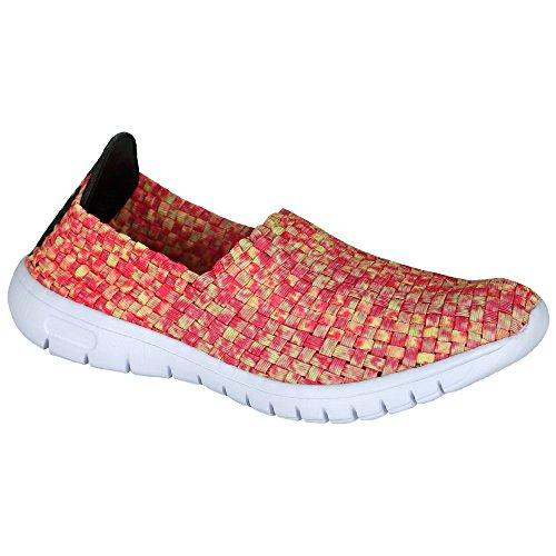 Laufschuhe - Turnschuhe - Schuhe - Slipper - Damen mit Farb- und Größenauswahl Orange