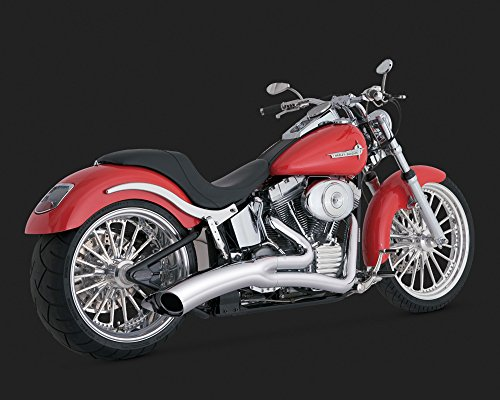 Vance and Hines Big Radius 2:1 Full System Exhaust for Harley Davidson 1986-201 - One Size (1 Full System Exhaust)