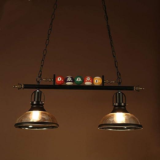 DXQWAN LED lámpara de Billar Minimalista posmoderna Vidrio de ...