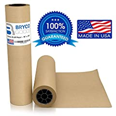 Superior packing paper, much thicker than newspaper for far greater protection when moving, packing, or packaging your valuables. Can also be used as the perfect art paper for you child as it is thick and durable so heavy paint does not leak ...