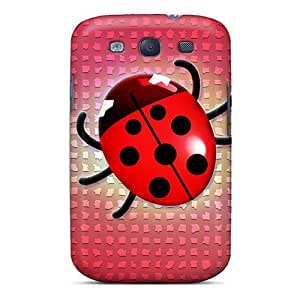 Cute High Quality Galaxy S3 Ladybug Case