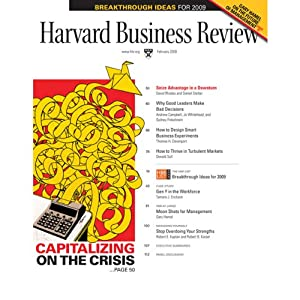 Harvard Business Review, February 2009 Audiomagazin