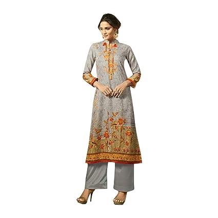 b7824039069 Amazon.com  Bollywood Festive Pakistani Pants Style Formal Wedding Straight  Salwar Kameez Muslim Women Indian Dress Suit 772  Home Improvement