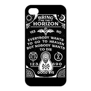 iPhone 4 / 4S Cover,BMTH Bring Me to the Horizon TPU Rubber Phone Case