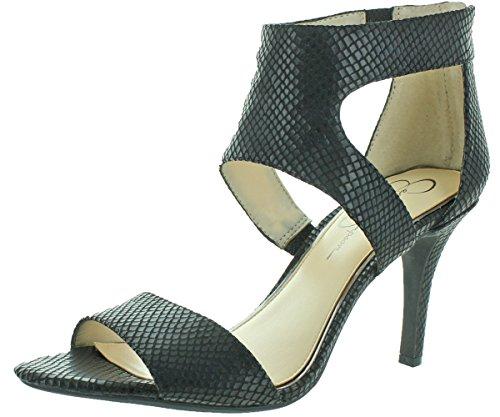 Jessica Simpson Mekos Women's Dress Sandals Heels Black Size 10.5 - Jessica Simpson Slingback Shoes