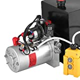 Mophorn 12V/DC Hydraulic Pump 15 Quart/ 3.9