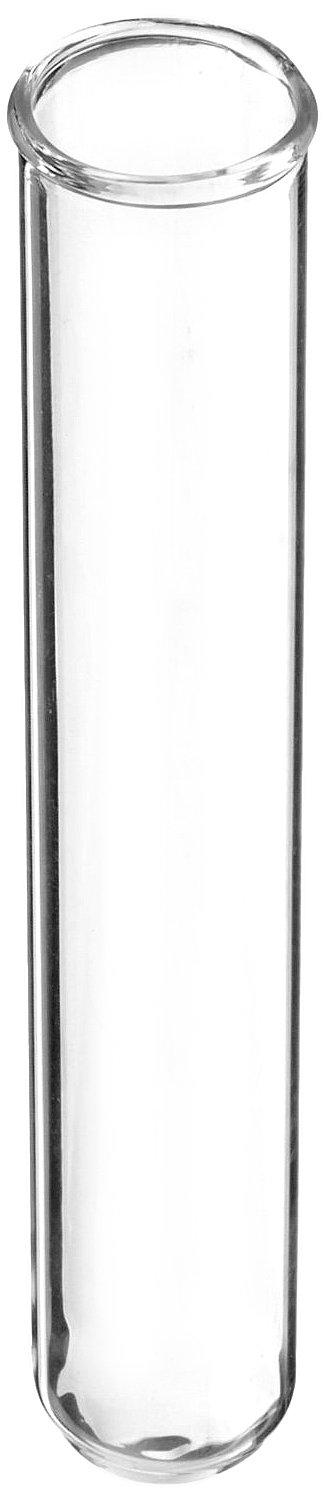 American Educational Borosilicate Glass Round Bottom Test Tube, 12mm OD x 75mm Length (Pack of 72)