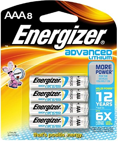 Energizer Advanced Lithium Batteries AAA 8pk