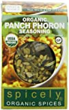 Spicely Organic Seasoning, Panch Phoron Salt Free - Compact
