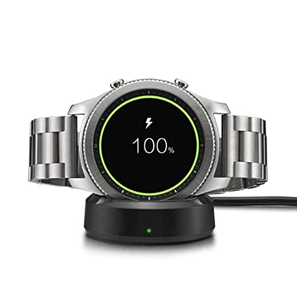 Amazon.com: Womdee Galaxy Watch Charger, Wireless Charging ...