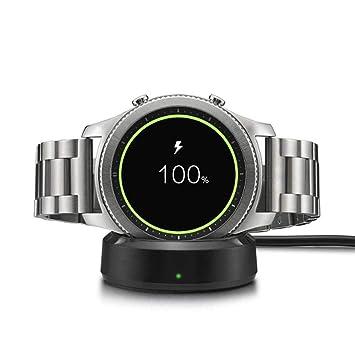 Womdee Galaxy Watch Cargador, inalámbrico de Carga Dock ...