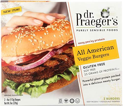 Dr. Praeger's All American Veggie Burger, 8 Ounce