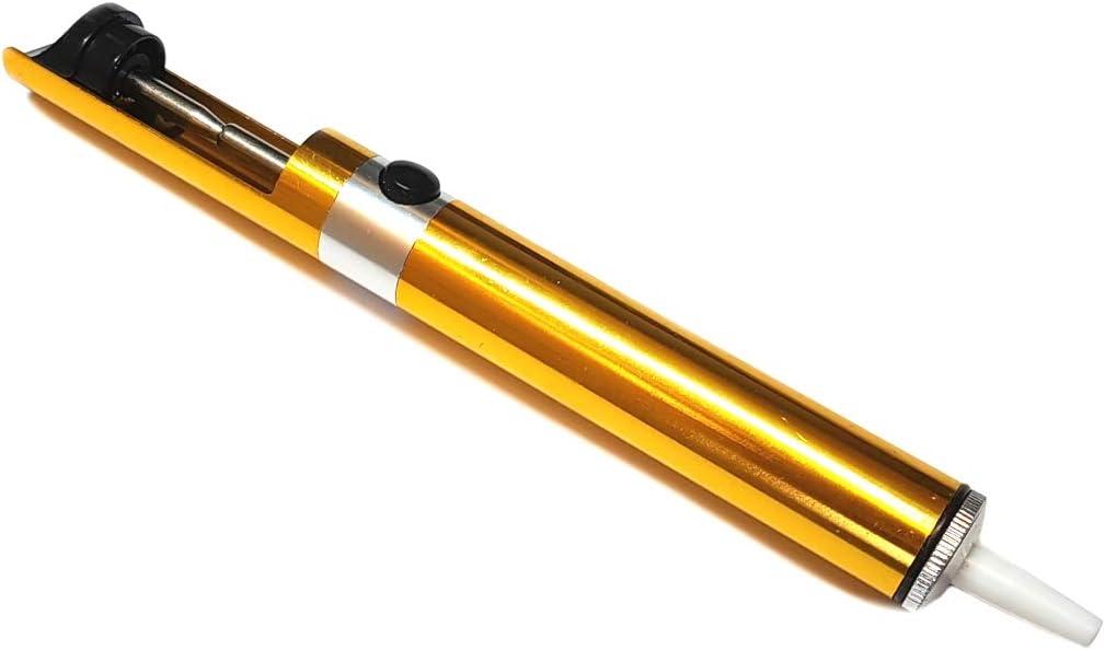 entl/öten Entl/ötsaugpumpe Komerci ZD-192A Entl/ötpumpe in Metallausf/ührung mit Teflon-Spitze L/ötzinn entfernen