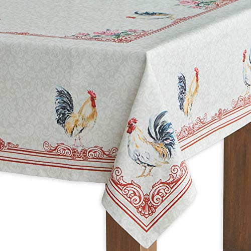 - Maison d' Hermine Campagne 100% Cotton Tablecloth 60 - inch by 108 - inch.