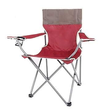 De PliableRouge Avec Fauteuil Camping Sjapex Chaisse Portable TlFK1J3c