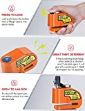 Tchipie Motorcycle Alarm Disc Brake Lock, Anti