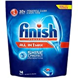 Finish All in One Max Dishwasher Tablets Original, 74 Tablets