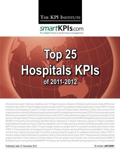 Download Top 25 Hospitals KPIs of 2011-2012 pdf epub