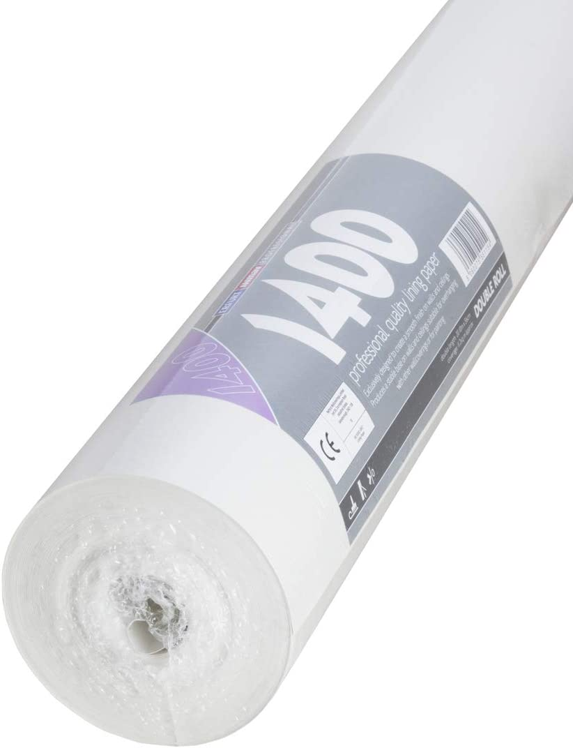 Mav Erfurt 1200 Grade Lining Paper Double Rolls 20mtrs x 56cm