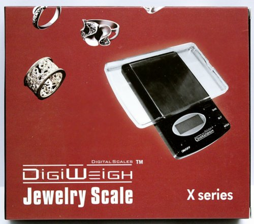 Digital Scale + Gold/Silver/Platinum Testing Kit + PRO Test Stone + Eye Loupe + 10pcs File Tool Set + Real Solid Silver/Plated Fake Gold by DigiWeigh (Image #4)