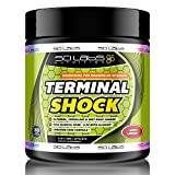 Terminal Shock by Scilabs Nutrition   Nitric oxide high energy Preworkout powder, Cherry Limeade, 30 servings