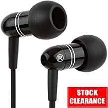 Premium Small In Ear Headphones Wired - HD Stereo Sound with Bass - Best Sport Earbuds for Small Ears - Mini In-ear Headphones with Microphone - Small Earbuds for Women Men - Headphones for Girls Boys