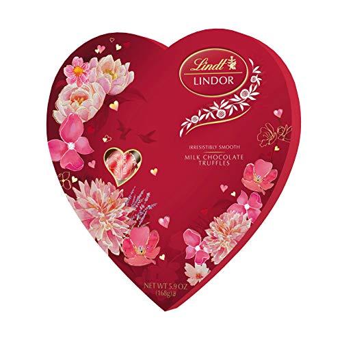 Lindt Lindor Valentine Truffles Box, Milk Heart, 5.9 Ounce for $<!--$11.00-->