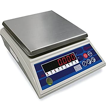 Báscula de sobremesa Baxtran PD6LED (6Kgx1g) (17,6x17,6cm): Amazon.es: Bricolaje y herramientas