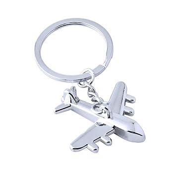 Amosfun 6pcs avión llaveros aviación Civil aviación avión ...