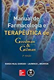 capa de Manual de Farmacologia e Terapêutica de Goodman & Gilman
