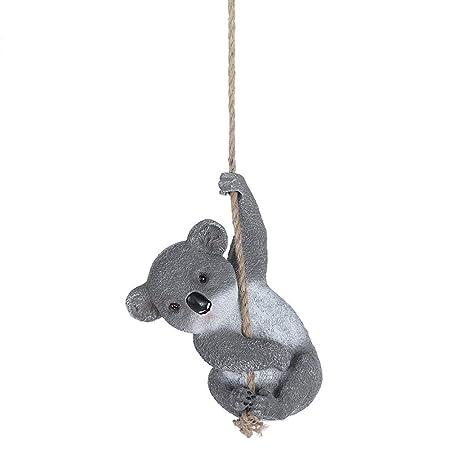 Ornamento en miniatura de Koala modelo animal de juguete Figurilla ...