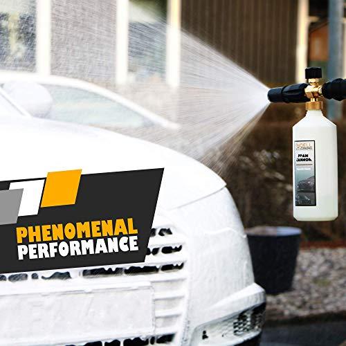 Rydell Car Wash >> Rydell Auto Accessories Professional Foam Cannon 1 Liter Bottle Snow Foam Lance Designed To Last Foam Blaster For Pressure Washer Gun