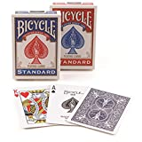 Bicycle Rider Back Poker Playing Cards, 4 Piece