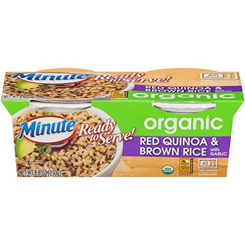 Minute Ready to Serve Brown Rice & Quinoa, 2 - 4.4 oz cups