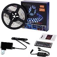LED Lights Strip 5M 5050 SMD Waterproof 150LEDs RGB Color Changing Flexible LED Light Strip Kit