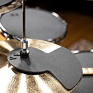 Vic Firth 20 Inch Fusion Drum and Cymbal Mute Pad Set: 10?, 12?, 14?(x2), 20″Drum Pads Plus Hi-hat and 2 x Cymbal Pads