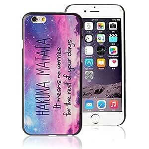EVERMARKET(TM) Hakuna Matata Galaxy Pattern Hard Case Cover for Apple iPhone 6 plus 6 plusG 4.7 Inch