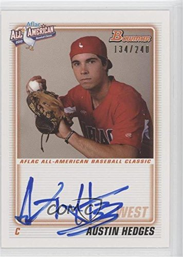 austin-hedges-134-240-baseball-card-2012-bowman-aflac-all-american-certified-autographs-autographed-