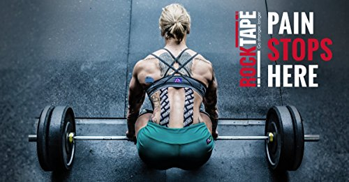 Rocktape Hemp Kinesiology Tape, Dye Free, Cotton Free, Water Resistant, Reduce Pain & Injury Recovery, Sustainable, 16.4 Feet Roll by Rocktape (Image #5)