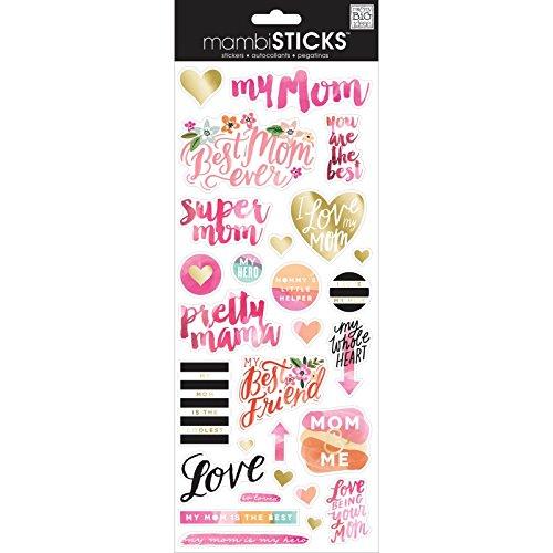 - me & my BIG ideas Super Mom Sticker