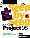 img - for Microsoft Project 98 Step by Step (Step by Step (Microsoft)) book / textbook / text book