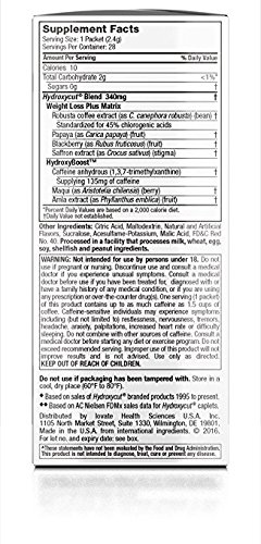Hydroxycut Drink Mix, Scientifically Tested Weight Loss and Energy, Weight Loss Drink, 28 Packets (67.2 grams) 4 Pack by Hydroxycut (Image #4)