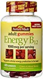 Nature Made Energy B-12 Adult Gummies Cherry & Wild Berries — 80 Gummies,1000 mcg Pack of 4 Review