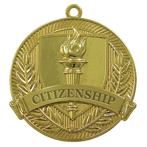 Citizenship Gold Medal (Set of 25) by Jones School Supply Co., Inc.
