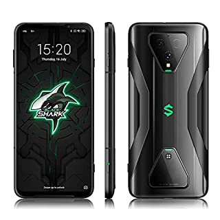 Black Shark 3 Gaming 5G Phone, 6.67 inch Cell Phone,Android 10 Snapdragon 865 Unlocked Mobile Phone, 270HZ Touch Reporting Rate, 64MP Triple Camera System Smartphone (Midnight Black, 8+128GB)