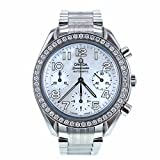 Omega Speedmaster swiss-automatic womens Watch 3515 (Certified Pre-owned)