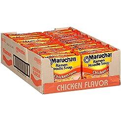 Maruchan Ramen Chicken, 3.0 Oz, Pack of ...