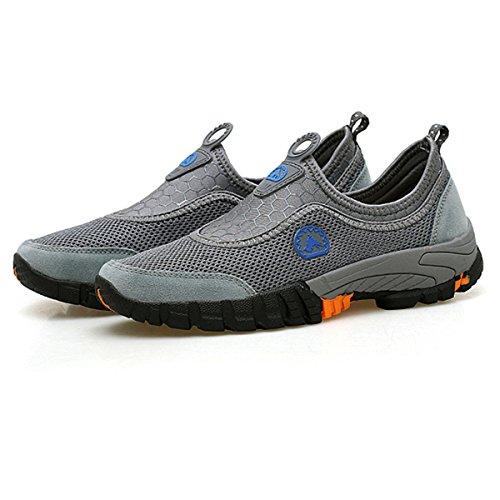 ... de Deporte de Malla al Aire Libre de Deporte Transpirable Zapatos Deportivos de Verano Walking Mocasines de Verano: Amazon.es: Zapatos y complementos